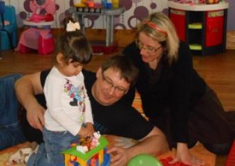 Véronique, Jean-François et Angeline ASSIER (photo)